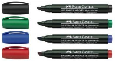 Маркер перманентен Faber Castell