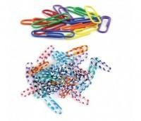 Кламери цветни Mas -тип зебра